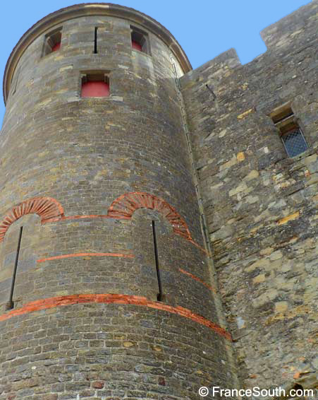 tower carcassonne